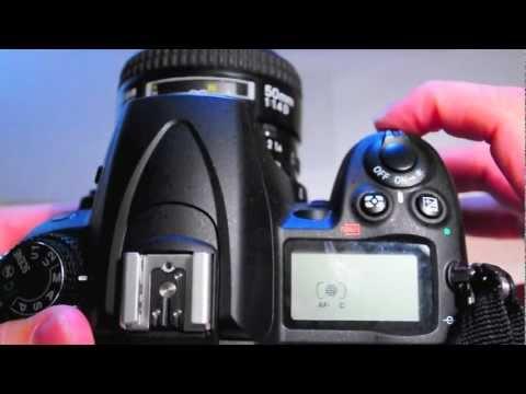 Nikon DSLR Auto Focus Settings