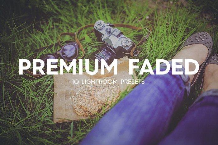 lightroom presets 10 premium faded lightroom presets