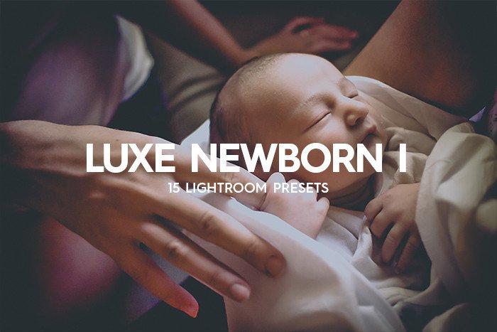lightroom presets 15 luxe newborn lightroom presets