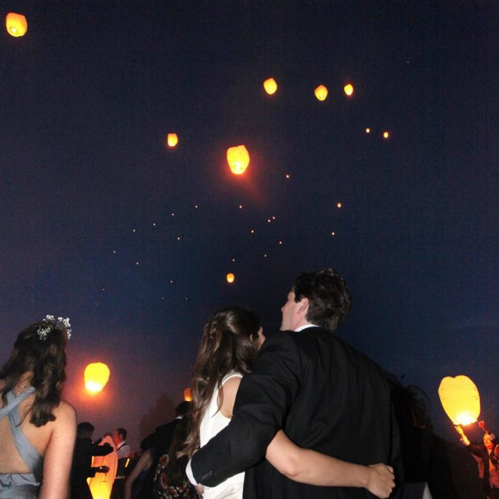 Night wedding photography by David Michael Photography