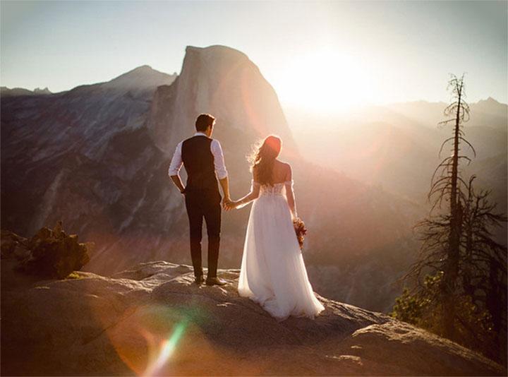 elope in Yosemite