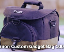 Canon DSLR Camera Bag – Custom Gadget Bag 100EG – Review