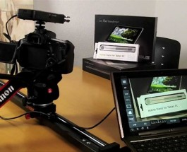 DSLR Controller App on Android Tablet (for Canon EOS Cameras)