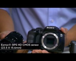 EXCLUSIVE FIRST LOOK: New Sony α3000, αNEX-5T cameras (DSLR capabilities)