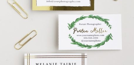 4 Useful Tips to Create an Outstanding Photography Business Card