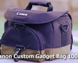 Canon DSLR Camera Bag – Custom Gadget Bag 100EG – Review